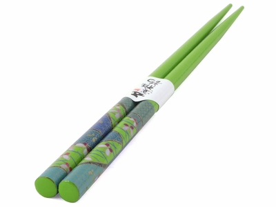 Green w/ Butterfly Chopstick