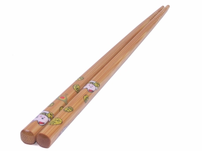 White Maneki Neko Chopsticks