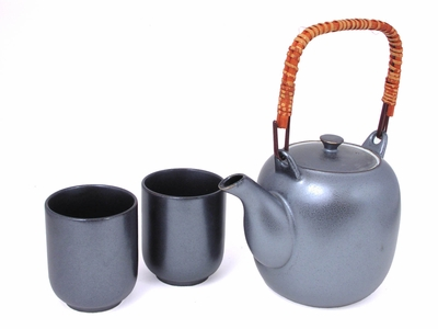 Cool Metal Tea Set