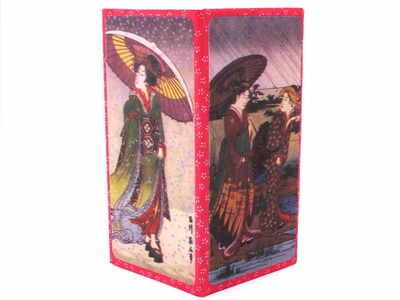 Geisha with Umbrella Paper Wallet