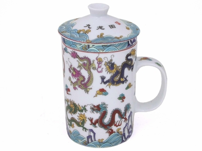 Dragon Teacup with Infuser