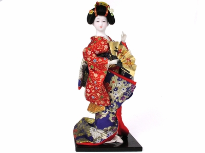 12 Inch Enchanting Dancing Geisha Collector's Doll
