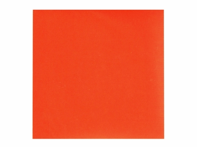 Six Inch Orange Origami Paper Set