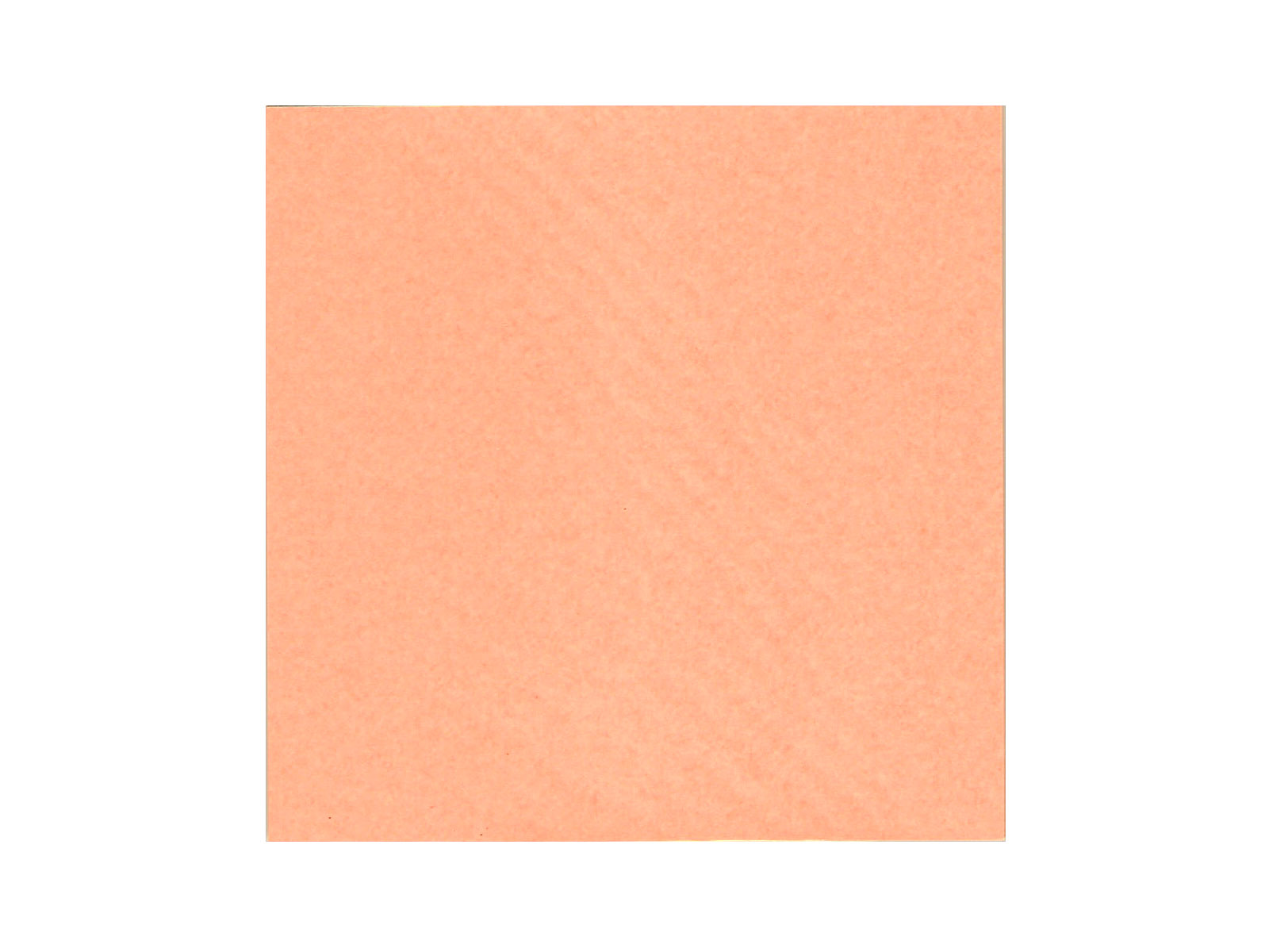 6 inch peach colored japanese origami paper