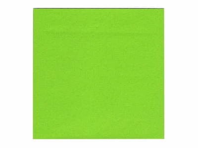 6 Inch Lime Colored Origami Paper Pack