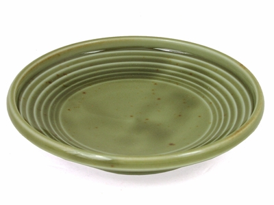 Seaweed Green Ceramic Condiment Container