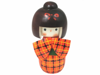 Country Style Kokeshi Doll