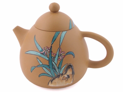 Yellow Yixing Teapot