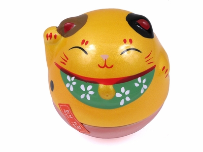 Adorable Egg-Shaped Maneki Neko