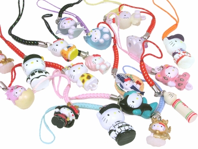 100 Hello Kitty Japanese Charms
