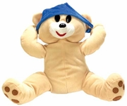 Boner Buddies Stuffed Animal - Panty on Bear's Head