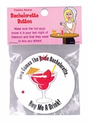 Bachelorette Light Up Button
