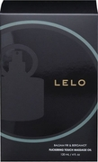 Lelo Flickering Touch Massage Oil 4oz, Balsam Fir and Bergamot