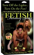 Fetish Fantasy Series Glow in The Dark Bondage Kit