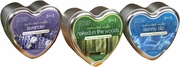 3 in 1 Suntouched Heart Shaped Candles