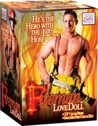 Fireman Love Doll - Hero with the 12 Inch Hose