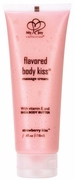 Flavoured Body Kiss Massage Cream - Strawberry kiss