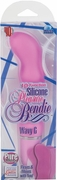 10-Function Silicone Pleasure Bendie Ridged G