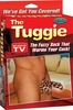 The Tuggie Fuzzy Cock Sock Leopard