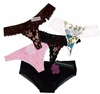 Assorted T-Back Style Panties