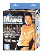 Marvelous Maverick Inflatable Male Doll