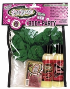 Get Glowin Body Party Kit - Raspberry