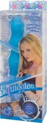 Briana Banks Squiggles Silcone Vibe Blue