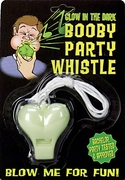 Glow In The Dark Booby Party Whistle