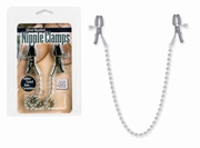 Silver Beaded Nipple Clamps