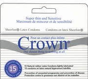 Crown Condoms - 15 pack