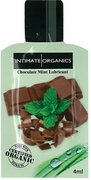 Intimate Organics Flavored Lube 4ml, Chocolate Mint