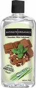Intimate Organics Flavored Lubricant, Chocolate Mint