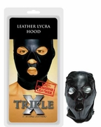 Deluxe Leather & Lycra Hood