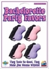 Bachelorette Party Favors pecker Candy Whistles - 4 per card
