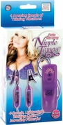 Petite Vibrating Nipple Teasers - Purple