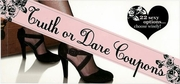 Truth or Dare Coupons Book