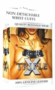 Triple X Non-Detachable Wrist Cuffs