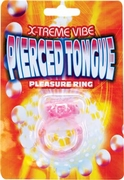 Pierced Tongue Pleasure Ring