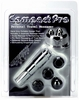 Compact Pro Travel Massager Silver