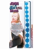 Anal Beads Jelly-blue - Jumbo