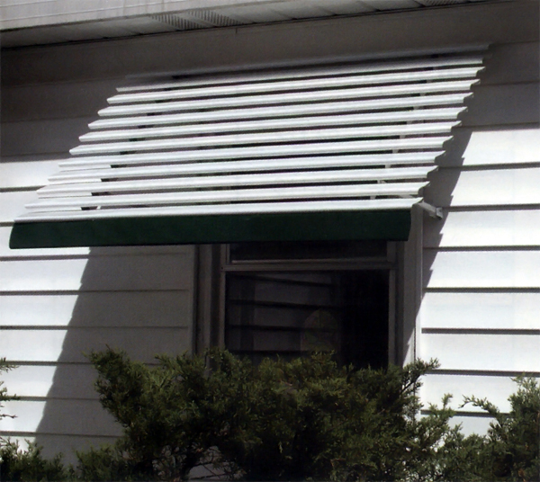 Aluma Vue Open Panel Aluminum Window Awnings