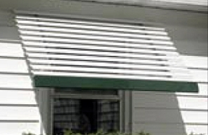 Aluma Line Closed Panel Aluminum Window Awnings