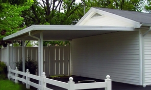 Aluminum Patio, Porch or Car Port Cover - Southern States Model