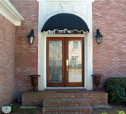 Dome Window Awnings : Ezawn dome style window awnings door canopies sized
