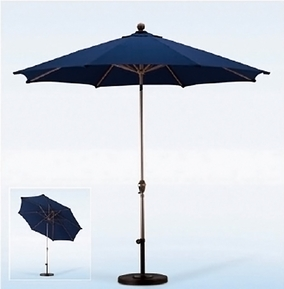 California Umbrella 9 Foot Aluminum Patio Umbrella