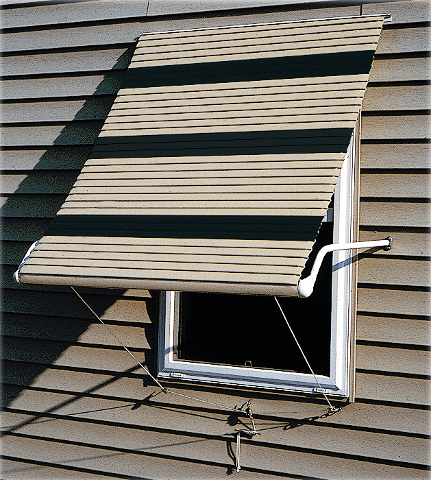 Roll Up Awnings : Aluminum roll up window awnings