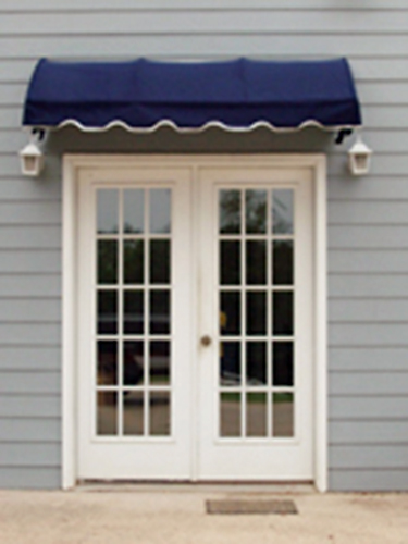 EZAwn Quarter Round Style Window Awnings Door Canopies Sized 4 6 8 10 12 Wide