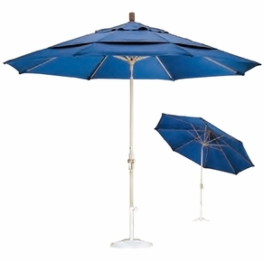 California Umbrella Aluminum Market Umbrella - 9' & 11'