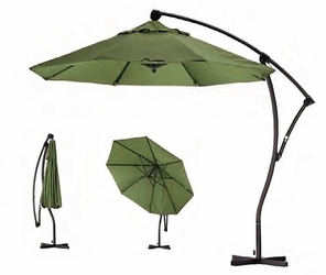 California Umbrella Cantilevered Aluminum Umbrella