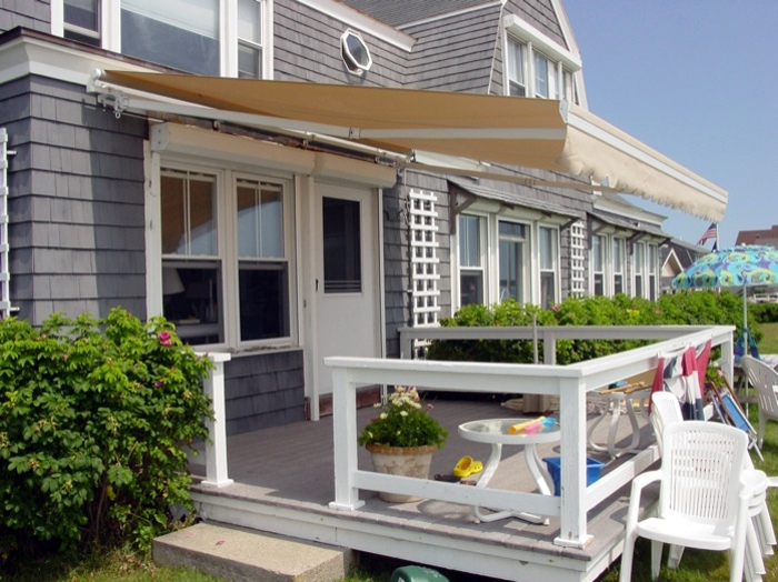 Retractable Patio Awnings Acrylic Fabric